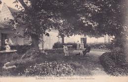 CPA 37 @ LOCHES - Jardin Anglais Du Clos Bourdillet - Loches