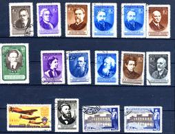 URSS SU 1951, Petit Lot De 16 Timbres Oblitérés / Used. - Used Stamps