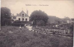 CPA 37 @ LOCHES - Clos Bourdillet - Le Jardinier à Gauche - Loches