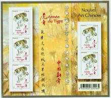BLOC - FEUILLET - F 4433 -  ANNÉE LUNAIRE CHINOISE  LE  Tigre  -  Neuf -   Non Plié - - Ungebraucht