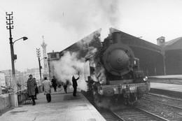 Paris-Bastille. Locomotive 141 TB 407. Train Spécial FACS. Photo Jacques Bazin. 23-03-1969 - Eisenbahnen