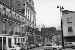 Paris-Viaduc Daumesnil. Locomotive 141 TB. Photo Jacques Bazin. 03-12-1969 - Eisenbahnen