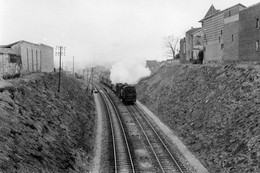 Entre Joinville-le-Pont Et Saint-Maur-Créteil. Locomotive 131 TB. Photo Jacques Bazin. 02-04-1956 - Eisenbahnen