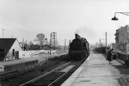 Saint-Maur-Créteil. Locomotive 131 TB 10. Photo Jacques Bazin. 13-03-1956 - Eisenbahnen