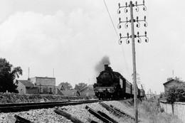 Arrivée Au Parc-Saint-Maur Côté Paris. Locomotive 131 TB 44. Photo Jacques Bazin. 21-07-1956 - Eisenbahnen
