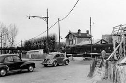 Le Parc-Saint-Maur. Locomotive 131 TB. Photo Jacques Bazin. 25-03-1956 - Eisenbahnen
