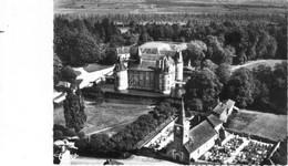 Longecourt.Eglise Et Château.Vue Aérienne. - Other Municipalities