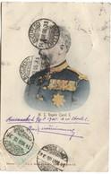 ROYALTY M.S: Regela Carol I Color  Ed. Maier & Stern 1905 Corner Damage - Romania