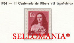 1954 JOSE DE RIBERA EL ESPAÑOLETO SAINT MARY MAGDALENE  1129 MNH ** TC23441 FR - 1951-60 Ongebruikt