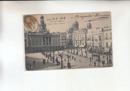 CADIZ -PLAZA DE ISABEL II   1900 - Cádiz