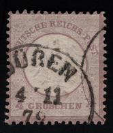 1872 Kleines Brustschild Mi DR 1 Sn DE 1 Yt DR 11 Sg DR 1 AFA DR 1 Prooved Risecke Look For Scan - Oblitérés