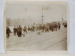 Belgique. Liège. Quai De La Batte. Animée.  1905. 11x8 Cm. - Plaatsen