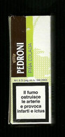 Tabacco Pacchetto Di Sigari Italia - Pedroni Pina Colada Da 2 Pezzi - Tobacco-Tabac-Tabak-Tabac O - Scatola Di Sigari (vuote)