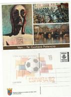 PALENCIA TARJETA ENTEROPOSTAL  TARIFA  A -  VEN... TE GUSTARÁ  (Nueva) - 1931-....