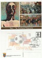PALENCIA TARJETA ENTEROPOSTAL  TARIFA  A -  VEN,,,, TE GUSTARÁ - Matasellos Turístico De Palencia 1-julio 2018 - 1931-....