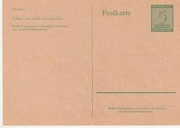 SBZ - 1945 - Postkarte Mi. P 14 ** (D558) - Soviet Zone
