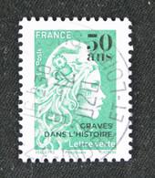 France 2020- 50 Ans De L'imprimerie De Boulazac- Marianne Surchargée Oblitéré - Gebraucht