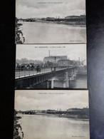 CHOISY LE ROI. Le Pont Et Gare - Bords De Seine - Choisy Le Roi