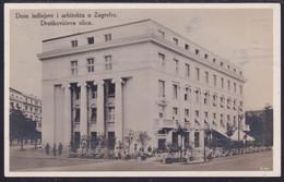 Zagreb, Draškovićeva, Mailed 1927 - Kroatien
