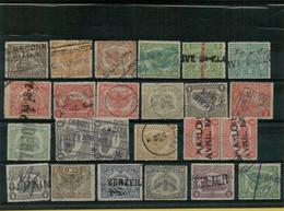 VA-3306  Noodstempels   WO I  Periode 1918-1919 - 1915-1921