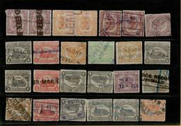VA-3307  Noodstempels   WO I  Periode 1918-1919 - 1915-1921