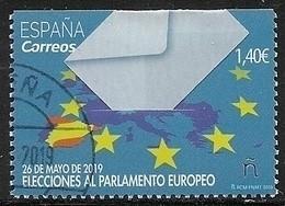 2019-ED. 5298 -COMPLETA-40 Aniversario De Las Elecciones Al Parlamento Europeo-USADO CON GOMA- - 2011-... Used