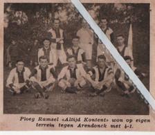 "RAMSEL..1933.. PLOEG RAMSEL  "" ALTIJD KONTENT "" - Unclassified"