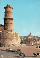 Marseille - Entrée Du Vieux Port , Fort Saint Jean , Dans Le Fond , Notre Dame De La Garde - Vecchio Porto (Vieux-Port), Saint Victor, Le Panier