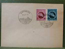 Lettre, Oblitéré Luxembourg 1944. Occupation - 1940-1944 Duitse Bezetting