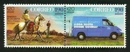 Uruguay (2017) - Set - /  Van - Mail - Post - Horse - Motos