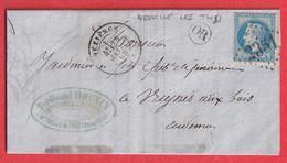 N°29 GC 2351 MEZIERES ARDENNES OR NEUVILLE LES THIS VRIGNES AUX BOIS - 1849-1876: Periodo Clásico