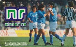 TC JAPON / 110-011 - FOOTBALL - DIEGO MARADONA / ARGENTINA Argentine - SOCCER JAPAN Phonecard - 1137 - Sport