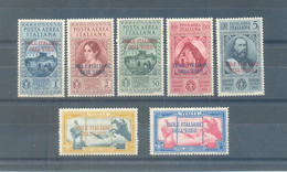 "1932 Express Airmail Italia Overprinted  ""ISOLE ITALIANE DELL'EGEO"" MLH - Nuevos"