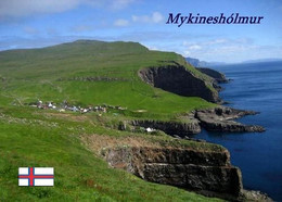 Faroe Islands Mykinesholmur Landscape New Postcard Färöer AK - Faeröer