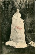 75009 PARIS - Le Monument D'Alphonse Daudet Aux Champs-Élysées - Publicité Farines Maltées Maggi Au Dos - District 09