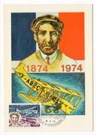 CARTE MAXIMUM  MONACO 1974 – Henri Farman - YT 959 - Maximum Cards