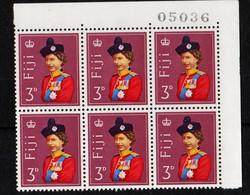 UMM - 1962 QE II, Block Of 6 - Fiji (1970-...)