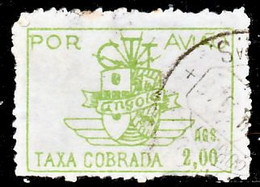 !■■■■■ds■■ Angola Air Post 1947 AF#11 ø Symbol Of The CTT 2,00 Ags (x8924) - Angola