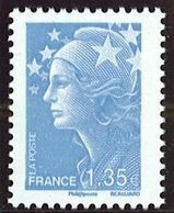 N° 4476 Marianne De Beaujard 2010  Faciale 1,35 € - Nuovi