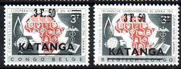 KATANGA - YT N° 50 à 51 - Neufs ** - MNH - Cote: 8,00 € - Katanga