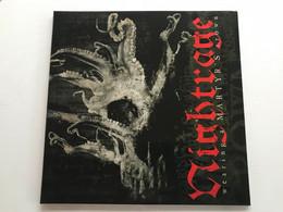 NIGHTRAGE - Wearing A Martyr's Crown - LP 400 Ex - Hard Rock & Metal