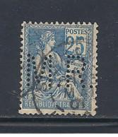 Y & T  N°  114   Perforé  M. R.  109  Ind  5  EC - Gezähnt (Perforiert/Gezähnt)