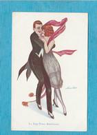 Illustrateur : Xavier Sager, 1947. - Soirée Dansante. - Le Rag-Time Américain. - Sager, Xavier