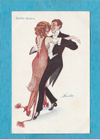 Illustrateur : Xavier Sager, 1946. - Soirée Dansante. - Double Boston. - Sager, Xavier
