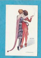 Illustrateur : Xavier Sager, 1947. - Dansing-Girls. - A L'Américaine. - Sager, Xavier