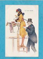 Illustrateur : Xavier Sager, 1947. - Aux Courses. - Le Bon Tuyau. - Sager, Xavier