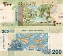 SUDAN       200 Sudanese Pounds      P-New       1.2019      UNC - Sudan