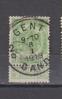 COB 83 Centraal Gestempeld Oblitération Centrale GENT - GAND 2D - 1893-1907 Coat Of Arms