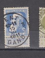 COB 76 Centraal Gestempeld Oblitération Centrale GENT - GAND 3J - 1905 Thick Beard