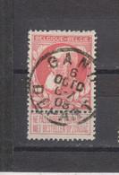 COB 74 Centraal Gestempeld Oblitération Centrale GENT - GAND Départ - 1905 Thick Beard